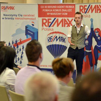 Tłumaczenie symultaniczne w j. angielskim na międzynarodowej konferencji  RE/MAX Polska