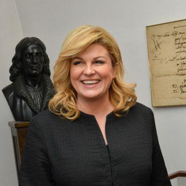 Wizyta prezydent Republiki Chorwacji w Krakowie