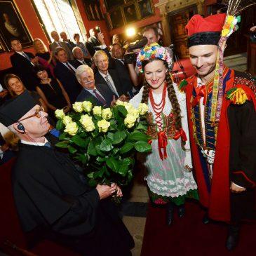 Prof. Henning Dralle otrzymał tytuł doktora honoris causa Uniwersytetu Jagiellońskiego