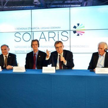 ANGOS tłumaczył symultanicznie na otwarciu Centrum Solaris
