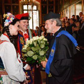 Tad Taube otrzymał doktorat honoris causa Uniwersytetu Jagiellońskiego – ANGOS zapewnił obsługę uroczystości
