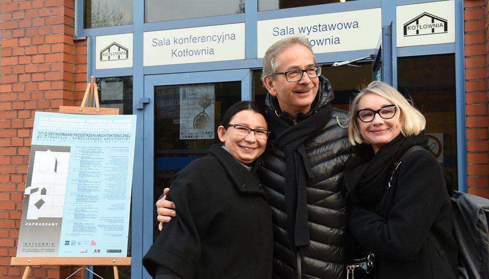 Konferencja architektoniczna Politechnika Krakowska ANGOS tłumaczenia