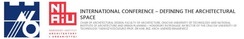 Tłumaczenie konferencji PK DEFINIOWANIE PRZESTRZENI ARCHITEKTONICZNEJ